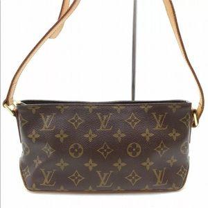 Authentic Louis Vuitton Trotteur Shoulder Bag